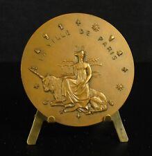 Médaille animal mythologique Licorne Ville de Paris unicorn  独角兽 Einhorn Medal