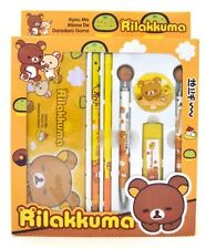 San-x Rilakkuma Stationery Set -7 Piece
