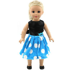 "Fits 18"" American Girl Madame Alexander Handmade Doll Clothes dress MG145"
