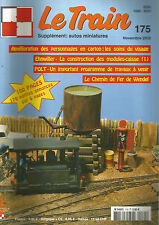 LE TRAIN N° 175 PERSONNAGES EN CARTON / CONSTRUCTION MODULES-CAISSE / WENDEL