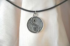 Necklace Yin Yang Tibetan Silver Tone New