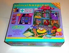 1997 Vintage Pony in my Pocket - Animal Hospital - RESCUE CENTRE - Boxed (A6)