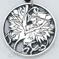 Dumbledore's PHOENIX Fawkes Harry Potter Pendant Necklace Fine Pewter