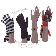 Female mannequin hands,display Jewelry Bracelet,gloves, left+right -A Pair Hands