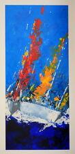 Toraldo Francesco Serigrafia  50 x 100 a 44 passaggi di colore !
