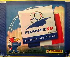 RARE - PANINI 1998 FRANCE FIFA WORLD CUP STICKERS PACKET