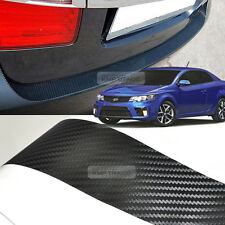 Carbon Rear Bumper Protector Decal Sticker for KIA 2010 - 2013 Cerato Forte Koup