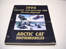 Arctic Cat 1994 Cheetah 340 And 440 Service Manual Slightly Used #21