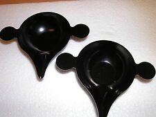 two wax melting cups