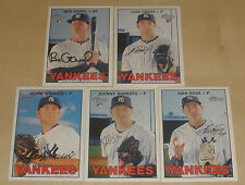 2016 NY YANKEES 40 Card Lot w/ TOPPS HERITAGE HIGH # Team Set 29 CURRENT Players