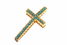 2pc Pearl Cross Connector Charm 1-3day Shipping