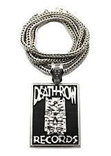 "NEW DEATHROW RECORDS PIECE WITH 36"" FRANCO CHAIN"