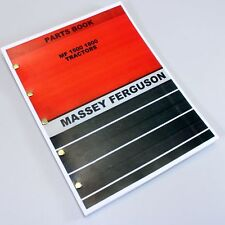 MASSEY FERGUSON 1500 - 1800 TRACTOR PARTS CATALOG MANUAL EXPLODED VIEW ASSEMBLY