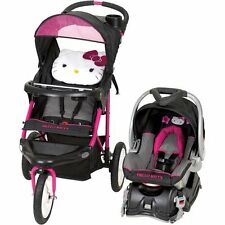 Hello Kitty Jogger Stroller Travel System Car Seat Booster Seat Baby Child Infan