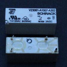 2 Stk. V23061-A1007-A302 SCHRACK RELAIS  24V DC  NEU - 2pcs.