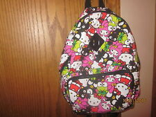 Sanrio Hello Kitty Claire's Loungefly 40th Anniversary Backpack Bag Keroppi Maru