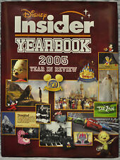 DISNEY INSIDER YEARBOOK 2005 With DVD - Hardcover with Dust Jacket