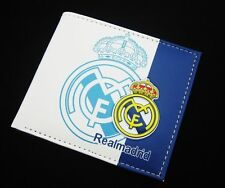 For Real Madrid wallet fans men ID Card Holder Billfold bifold Purse 16/17 R16