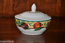 ROYAL DOULTON EVERYDAY AUGUSTINE COLLECTION PORCELAIN LIDDED SUGAR BOWL (0750)