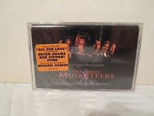 The Three Musketeers [SEALED Cassette) Bryan Adams, Rod Stewart, Michael Kaman