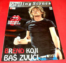 ROLLING STONES MICK JAGGER COVER RICHARDS WOOD WATTS 144 PAGES INSIDE MAGAZINE