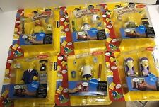 PLAYMATES THE SIMPSONS 2002 LOT SERIES #8 ACTION FIGURES F23