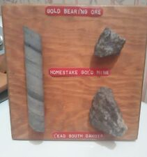 Gold Ore from the Homestake Mine of South Dakota