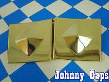 Baccarat Wheels Allure Gold Insert #N/A Wheel Center Cap USED Gold Inserts (2)