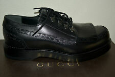 NIB GUCCI $990 GOODYEAR LACE UP LEATHER OXFORDS SHOES SZ US 9.5 EU 42.5 ITALY