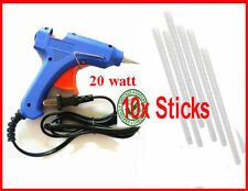 COMBO OFFER 10PC GLUE STICKS 7MM WITH 20W HOT MELT GLUE GUN MACHINE