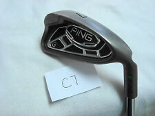 Nice Ping G15 7 iron Green dot 2.25* upright Ping AWT steel shaft stiff flex std