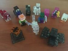 11 PCs/lot 2016 PVC Crystal Minecraft Toys Jjuguetes PVC Action Figures