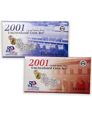 2001 United States US Mint 20 pc Uncirculated Coin Set SKU1407