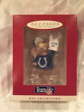 Indianapolis Colts 1996 Hallmark NFL Football Collection Ornament  Mouse Fan  #1