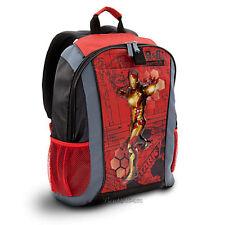 Marvel Comics Avenger IRONMAN IRON MAN Tony Stark Backpack Book Bag disney store