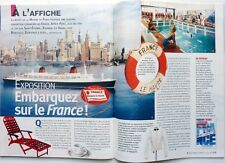 "Mag 2011: PAQUEBOT ""LE FRANCE""_CHARLES TRENET"