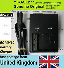 Genuine Original Sony BC-VM10 For M Type battery Alpha A100 A200 A350 A500 A550