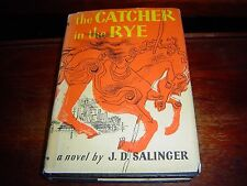 The Catcher in the Rye by J. D. Salinger (1951) HARDCOVER WITH DJ