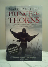 Prince of Thorns by Mark Lawrence (Hardback) 1st/1st Signed and Dated by Author