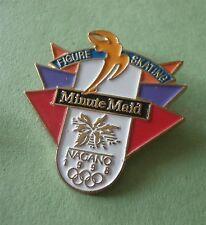 Minute Maid Nagano Figure Skating Sponsor - Olympic Lapel Pin