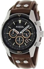 Fossil Men's Coachman CH2891 Brown Leather Quartz Watch