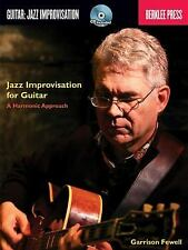 Jazz Improvisation For Guitar - A Harmonic Approach (Berklee Press Book/Cd), Gar