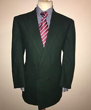 RARE TOMMY NUTTER SAVILE ROW LONDON LUXURY TRADITIONAL WOOLLEN DB BLAZER  44R