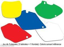 Fond De Plaque Blackbird Bleu Pour Ktm SX85 de 2012