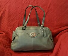 Coach 16529 Grey Leather Penelope Satchel Purse Bag NWT $428 Silver Gray Pewter