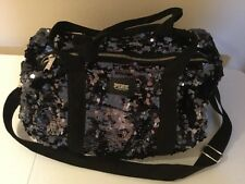 victoria secret pink Sequined Duffle Bag