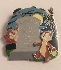 Chip And Dale Adventure Disney Pin - Haunted Mansion Attraction (Master Gracey)