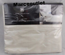Hotel Collection 1000 Thread Count Supima Cotton KING Flat Sheet Ivory