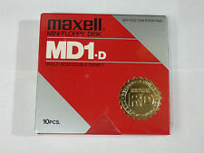"""MAXELL 5.25"""" 1S 2D Single Sided Double Density Floppy Disk 5 1/4 inch MD1-D"""