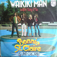 """7"""" 1974 culte dans vg +++! Bonnie st. claire: waikiki on"""